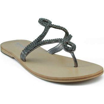 Schoenen Dames Sandalen / Open schoenen Oca Loca OCA LOCA ESCLAVA STRASS GRIS