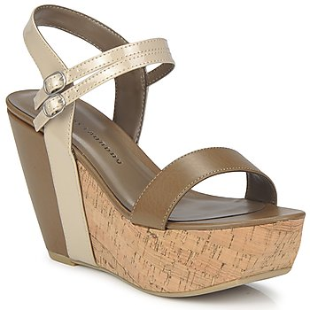 Schoenen Dames Sandalen / Open schoenen Chinese Laundry GO GETTER Taupe / Dk / Beige