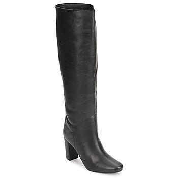 Schoenen Dames Hoge laarzen Antik Batik LARA  zwart