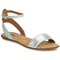 Schoenen Dames Sandalen / Open schoenen Lucky Brand COVELA Mint / Zilver