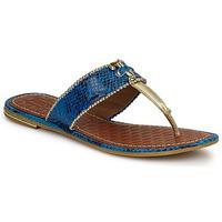 Schoenen Dames Sandalen / Open schoenen Juicy Couture ADELINE Helder / Blauw /  snake