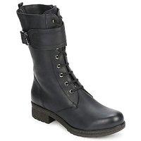 Schoenen Dames Hoge laarzen Unisa BLACK  zwart