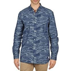 Textiel Heren Overhemden lange mouwen Suit ROD Blauw