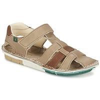 Schoenen Jongens Sandalen / Open schoenen El Naturalista KIRI Beige