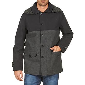 Textiel Heren Mantel jassen Aigle SHERPAFIELD Zwart / Grijs