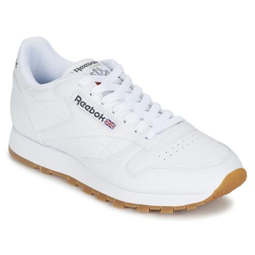 Schoenen Lage sneakers Reebok Classic CLASSIC LEATHER Wit