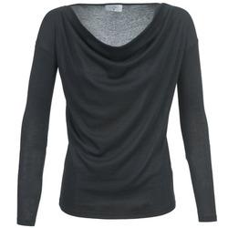 Textiel Dames T-shirts met lange mouwen Casual Attitude DELINDA Zwart
