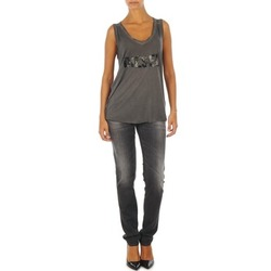 Textiel Dames Skinny jeans Diesel GETLEGG L.32 TROUSERS Grijs