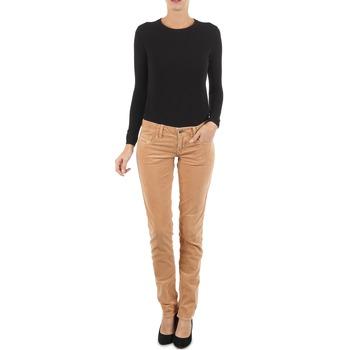 Textiel Dames Skinny jeans Diesel GRUPEE-F TROUSERS Beige