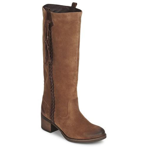 Schoenen Dames Hoge laarzen Betty London ELOANE Brown