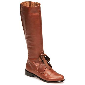 Schoenen Dames Hoge laarzen Fericelli MAURA  camel