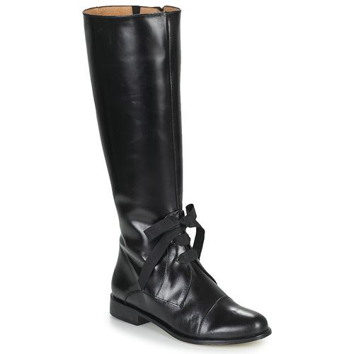 Schoenen Dames Hoge laarzen Fericelli MAURA Zwart