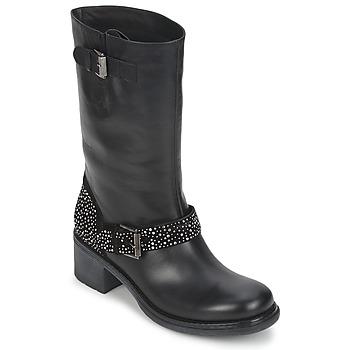 Schoenen Dames Laarzen Janet Sport CARYFENO Zwart