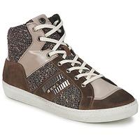 Schoenen Dames Hoge sneakers Janet Sport ERICMARTIN Taupe