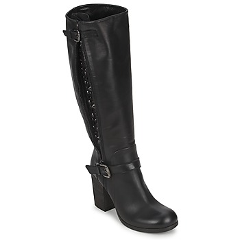 Schoenen Dames Hoge laarzen JFK SEMATA Zwart