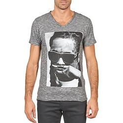 Textiel Heren T-shirts korte mouwen Eleven Paris LILY M MEN Grijs