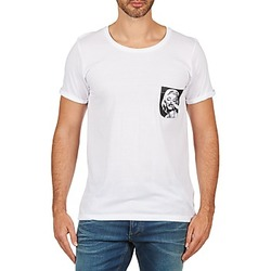 Textiel Heren T-shirts korte mouwen Eleven Paris MARYLINPOCK MEN Wit