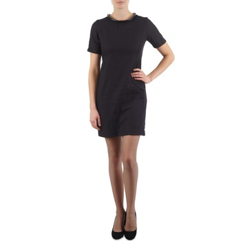 Textiel Dames Korte jurken Eleven Paris TOWN WOMEN Zwart