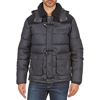 Textiel Heren Dons gevoerde jassen Eleven Paris VOOLF MEN Blauw / Grijs