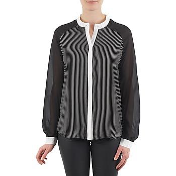 Textiel Dames Overhemden Manoukian RAGANE Zwart