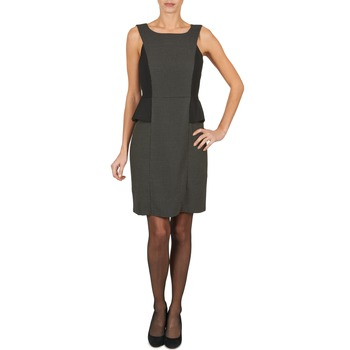 Textiel Dames Korte jurken Manoukian PEPLUM Zwart