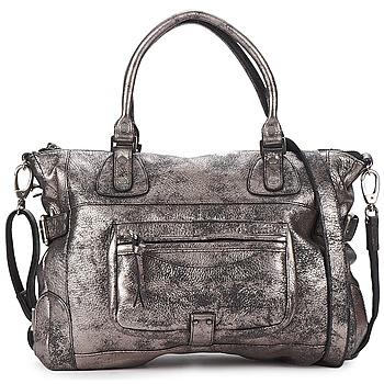 Tassen Dames Handtassen kort hengsel Sabrina CAMILLE Zilver
