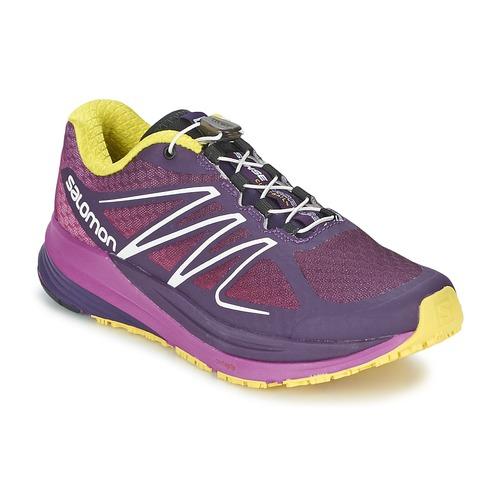 Schoenen Dames Running / trail Salomon SENSE PROPULSE W Violet / Roze / Geel
