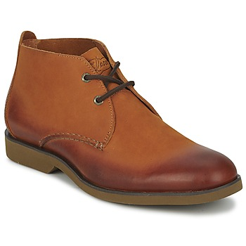 Schoenen Heren Laarzen Sperry Top-Sider BOAT OXFORD CHUKKA BOOT Brown