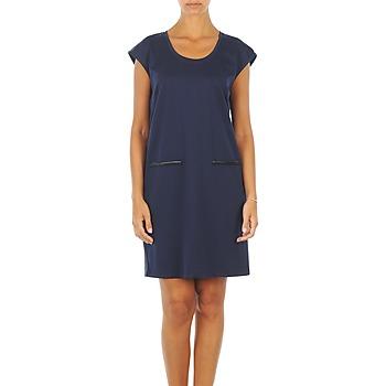Textiel Dames Korte jurken Vero Moda CELINA S/L SHORT DRESS Marine