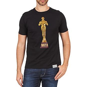 Textiel Heren T-shirts korte mouwen Wati B TSOSCAR Zwart
