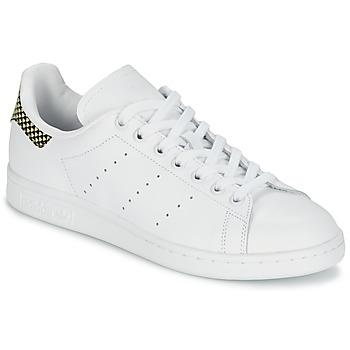Schoenen Dames Lage sneakers adidas Originals STAN SMITH Wit