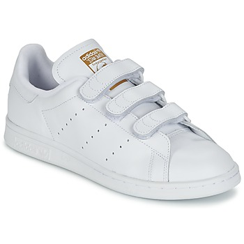 Schoenen Lage sneakers adidas Originals STAN SMITH CF Wit
