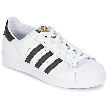 Schoenen Jongens Lage sneakers adidas Originals SUPERSTAR Wit