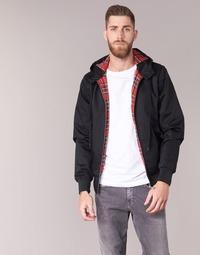 Textiel Heren Wind jackets Harrington HARRINGTON HOODED Zwart