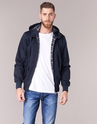 Textiel Heren Wind jackets Harrington HARRINGTON HOODED Marine