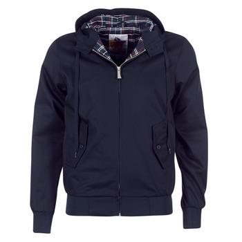 Textiel Heren Wind jackets Harrington HARRINGTON HOODED Marine