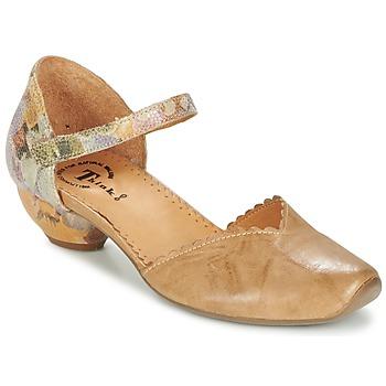 Schoenen Dames Sandalen / Open schoenen Think AIDA  camel