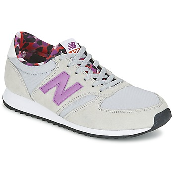 Schoenen Dames Lage sneakers New Balance WL420 Grijs / Violet