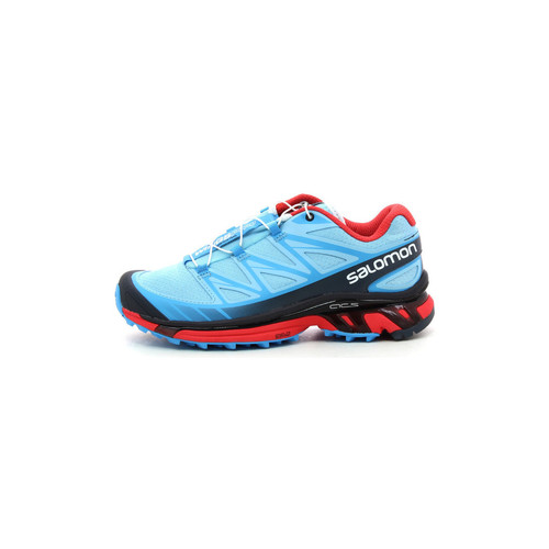 Schoenen Dames Running / trail Salomon Wings Pro Bleu