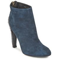 Schoenen Dames Low boots Bikkembergs HEDY 808 Blauw /  zwart