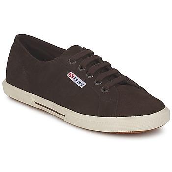Schoenen Dames Lage sneakers Superga 2950 Chocolade