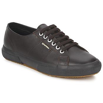 Schoenen Lage sneakers Superga 2750 Chocolade