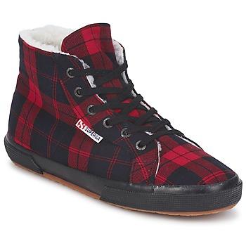 Schoenen Hoge sneakers Superga 2095 Rood / Zwart