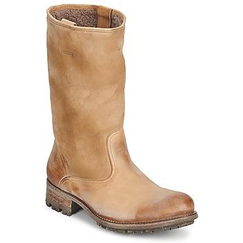 Schoenen Dames Hoge laarzen n.d.c. VALLEE BLANCHE KUDUWAXOIL/DFA Brown