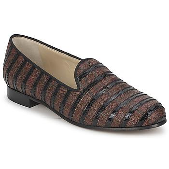 Schoenen Dames Mocassins Etro FLORINDA Brown / Zwart