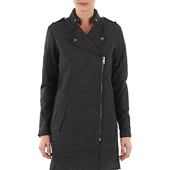 Textiel Dames Mantel jassen Yas MIND WOOL BICKER JACKET Grijs