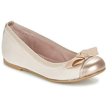 Schoenen Meisjes Ballerina's Garvalin MAT Beige
