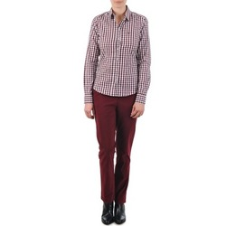 Textiel Dames Chino's Gant C. COIN POCKET CHINO Bordeaux