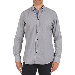 Textiel Heren Overhemden lange mouwen Hackett MEDALLION MULTI BD Blauw