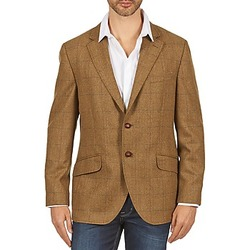 Textiel Heren Jasjes / Blazers Hackett TWEED WPANE Brown